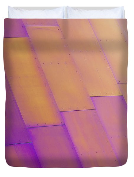 Purple Orange I Duvet Cover