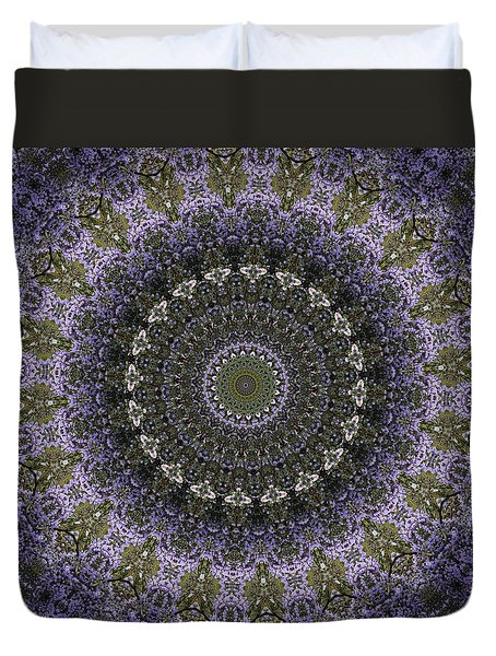 Purple Pleasure Abstract 3 Duvet Cover