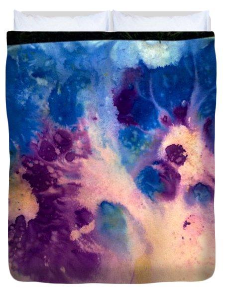 Purple Skies Duvet Cover by Tis Art