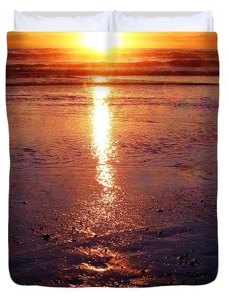 Purple Sunset Duvet Cover