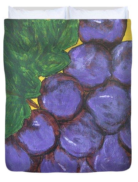 Purplest Purple Duvet Cover