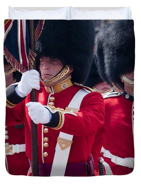 Queens Guards Duvet Cover
