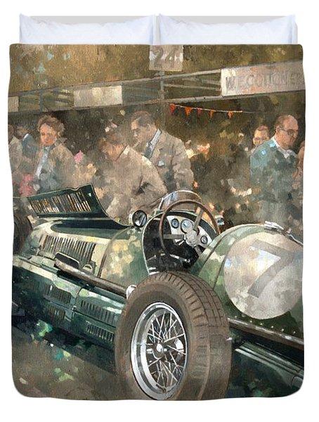 R. Parnell's Maserati  Duvet Cover