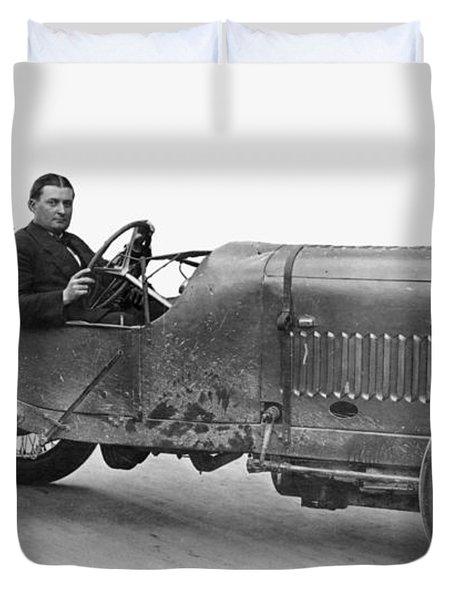 Race Car, 1914 Duvet Cover