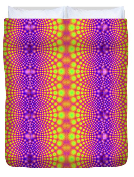 Radiating Duvet Cover by Clayton Bruster