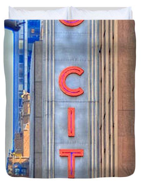 Radio City Music Hall Duvet Cover
