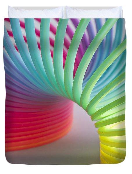 Rainbow 1 Duvet Cover by Steve Purnell