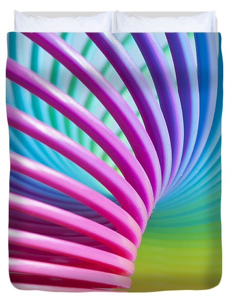 Rainbow 3 Duvet Cover by Steve Purnell