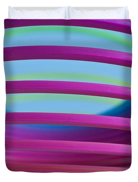 Rainbow 9 Duvet Cover by Steve Purnell