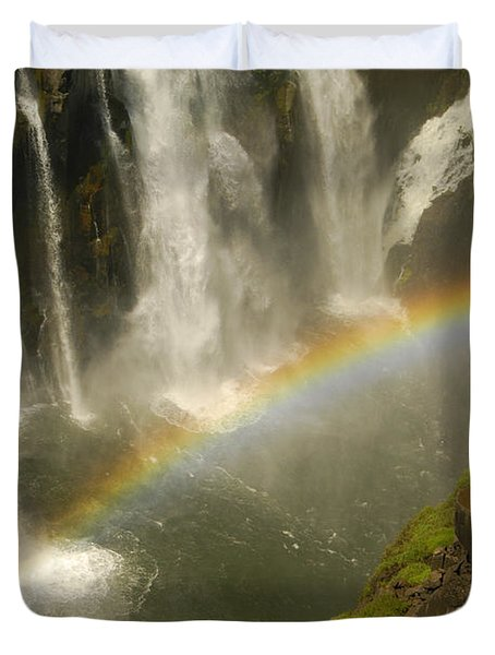 Rainbow Falls Duvet Cover