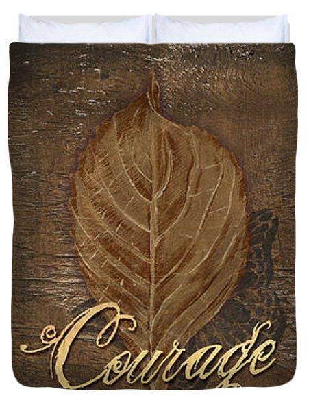 Rainbow Leaves 2 Duvet Cover by Debbie DeWitt