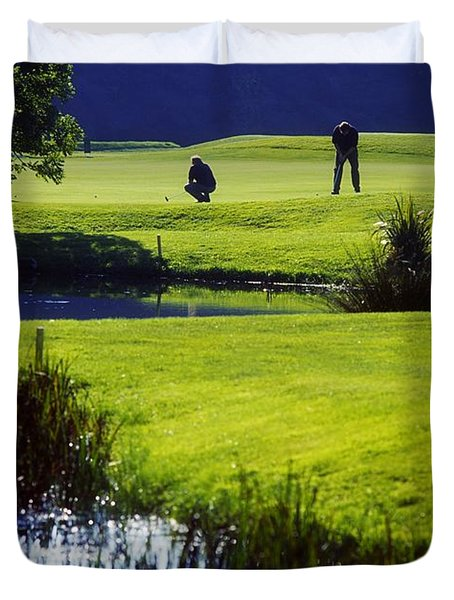 Rathsallagh Golf Club, Co Wicklow Duvet Cover by The Irish Image Collection