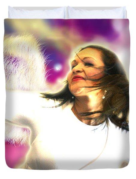 Ravert.angelic 3 Duvet Cover