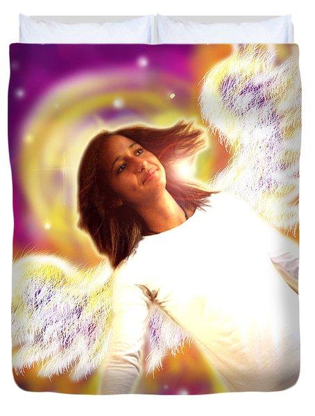 Ravert.angelic 6 Duvet Cover