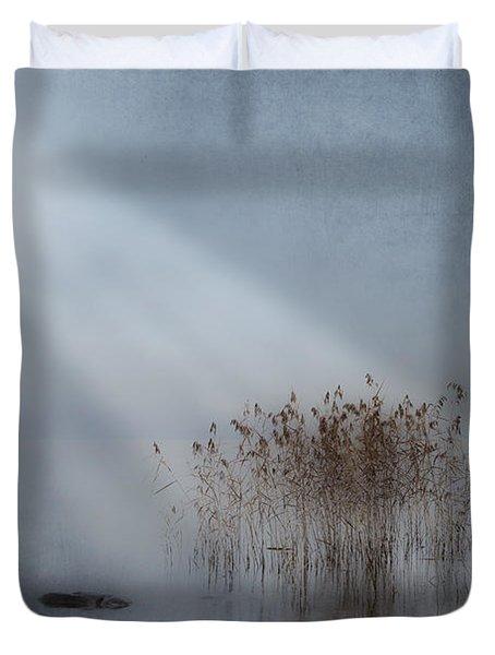 Rays Of Light Duvet Cover by Joana Kruse