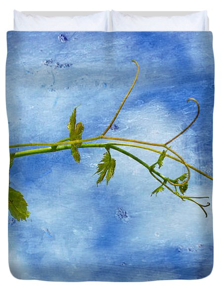 Reaching Out Duvet Cover by Heidi Smith