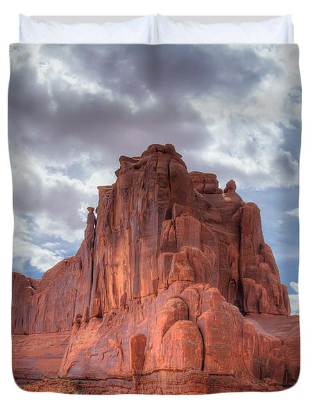 Reaching The Sky Duvet Cover