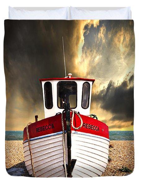 Rebecca Duvet Cover by Meirion Matthias