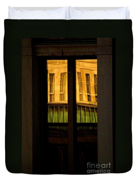 Rectangular Reflection Duvet Cover by Aimelle