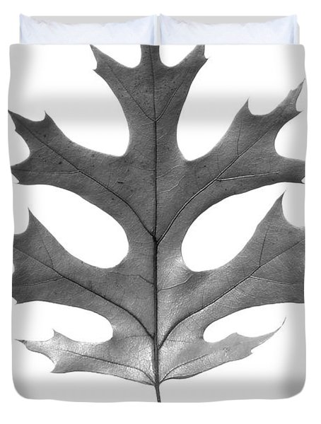 Red Oak Leaf Duvet Cover