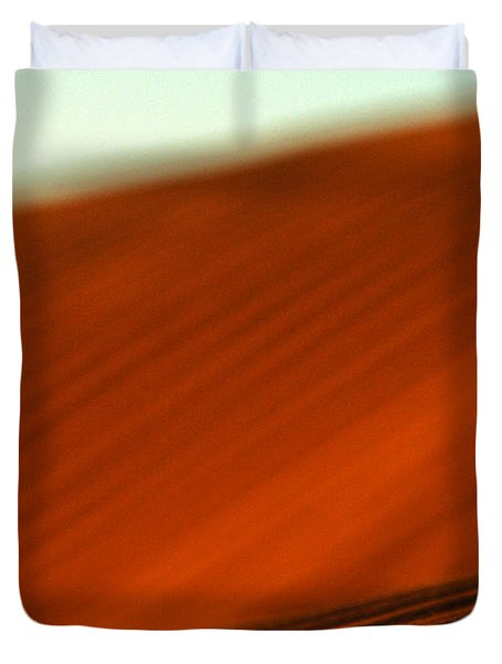 Red Ridge Duvet Cover
