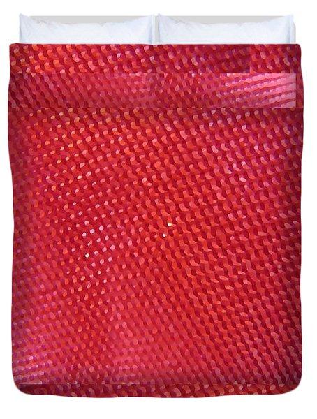 Red Riding Hood 2 Duvet Cover by Tim Allen