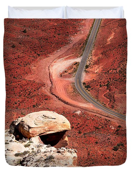 Red Rover Duvet Cover