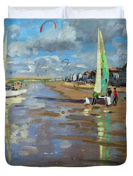 Reflection Duvet Cover by Andrew Macara