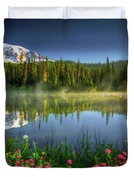 Reflection Lakes Duvet Cover
