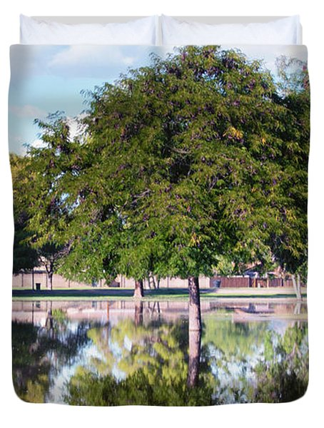 Reflections Duvet Cover by Diane Wood