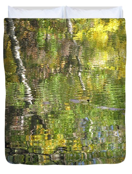 Reflections In Paradise 1 Duvet Cover by Anita Burgermeister