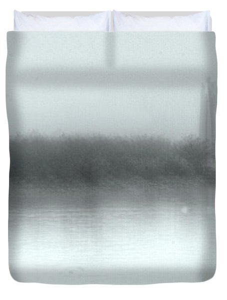 Reflections Through The Fog Duvet Cover