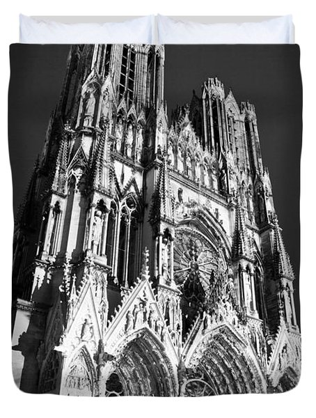 Reims Cathedral Duvet Cover