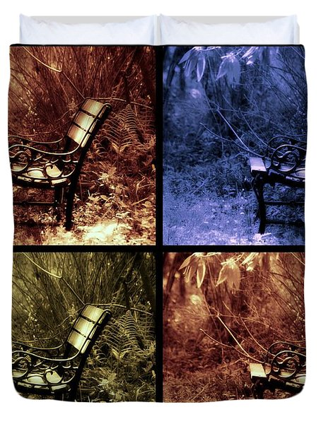 Relaxing Time Duvet Cover by Susanne Van Hulst