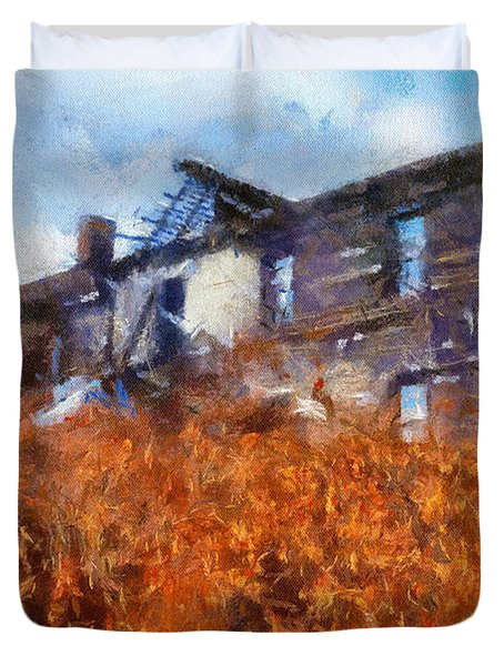Remember When Duvet Cover by Lois Bryan