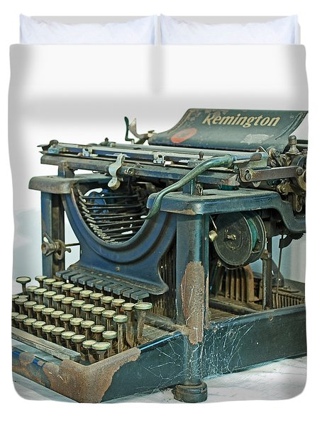 Duvet Cover featuring the photograph Remington 11 by Kay Lovingood