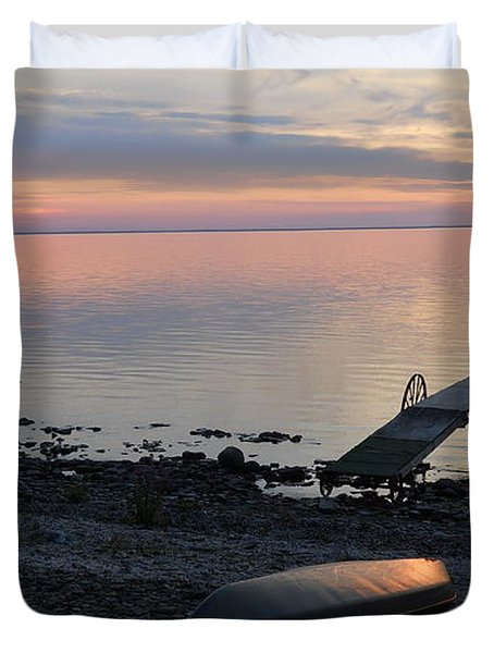 Restful Waters Duvet Cover