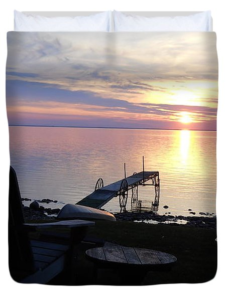 Resting Companions Duvet Cover