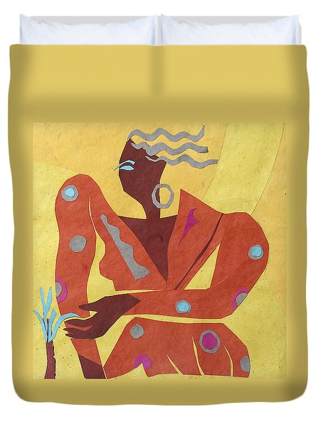 Dancer At Rest #2 Duvet Cover