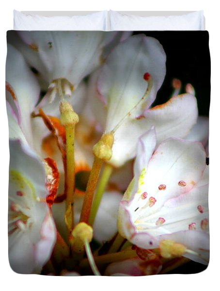 Rhododendron Explosion Duvet Cover