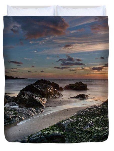 Rhosneigr Sunset  Duvet Cover