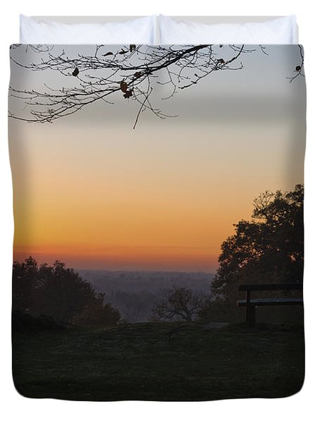 Richmond Sunset Duvet Cover