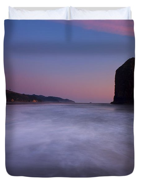 Rising Tide Duvet Cover by Mike  Dawson