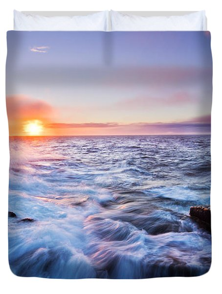 Rising Tide Duvet Cover by Mircea Costina Photography