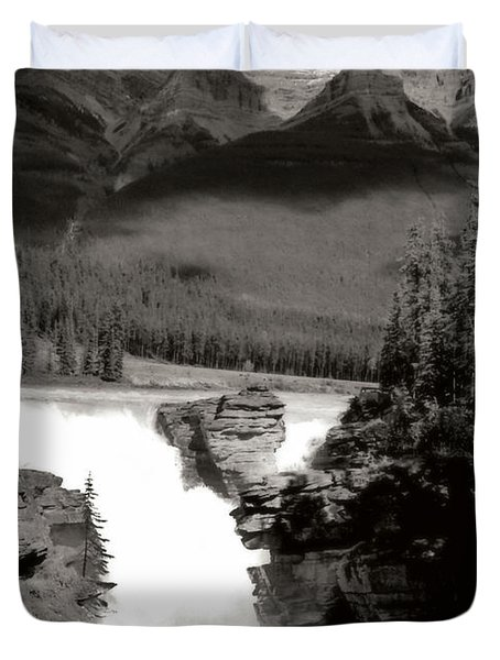 River Fall Part 1 Duvet Cover by Marcin and Dawid Witukiewicz
