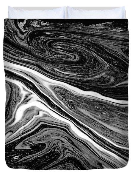 River Foam Duvet Cover
