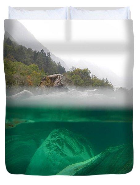 River Duvet Cover by Mats Silvan