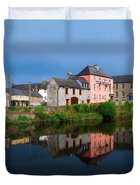 River Nore, Kilkenny, County Kilkenny Duvet Cover by The Irish Image Collection