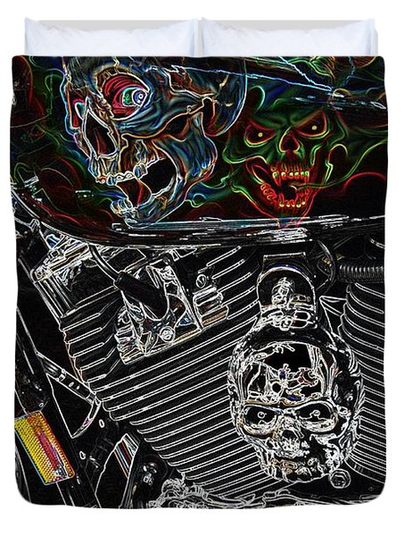 Road Warrior Duvet Cover
