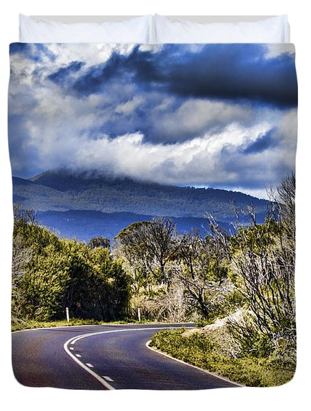 Road With A View Duvet Cover
